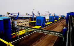 in 2012 September, 16 sets of BS backstop Chinese Caofeidian Coal Terminal in Tangshan port