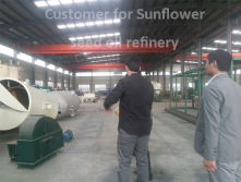Customers for oil refinery machine