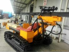 JBP100B Wagon Drilling Rig in Customs