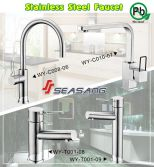 Stainless Steel Round Faucets