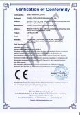 LED BULB LIGHT CE-LVD certificates