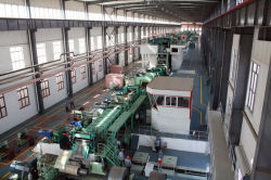 Pickling plate production line