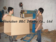 corrugated case making machine