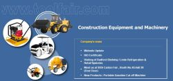 Updated Website for Construction Equipment!!!