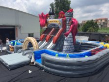 Dragon Inflatables at Rainbow Inflatables factory