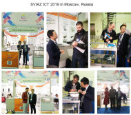 SVIAZ ICT 2019 in Moscow Russia