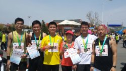Dalian Marathon in May