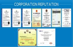 Certificates of our company