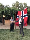 CEO of Qunfeng Machinery has attend a meeting in Norwegian Embassy in China