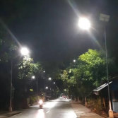philippines-8m 60w solar street light
