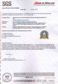 SGS Certificate for Induction Heating Machine