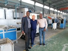 Nigerian Customer Project-PP PET monofilament Machine