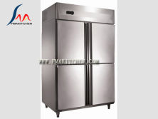 4 door air cooling refrigerator