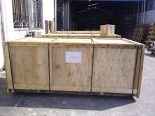 Plywood crate package