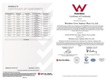 Watermark Certification of Faucet