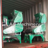 Delivery of Floating Fish Feed Exrtuder Machine Line
