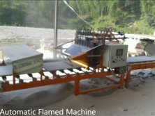 Automatic flamed machine