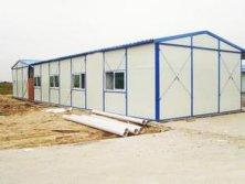 Light prefab steel structure house