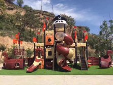 most popular pirate ship outdoor playground equipment