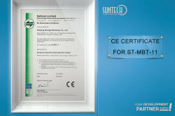 CE CERTIFICATE for ST-MBT-11