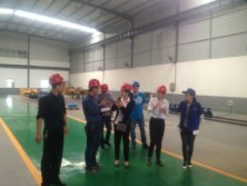 Uzbekistan customers visit high-tech zone branch factory to negotiate