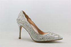 Sexy Diamonds High Heels Lady Wedding shoes