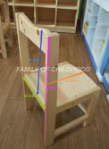 kid wooden chair