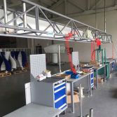Production Line of Wind Turbine
