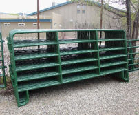 USA Powder Coated 12ft Corral Panel/Livestock Panel/Cattle Panel