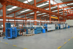 Germany Heat treatment production line in our plant