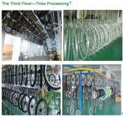 Bicycle Tires Processing