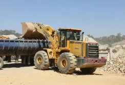 Lovol loaders in Myanmar