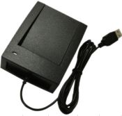 USB Issuing Card Reader Device for 13.56MHz or 125k Card plug and play RFID USB reader