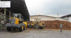 world brand loader working compare to komatsu loader