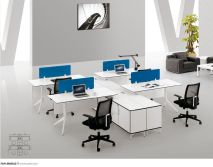 FOH Custom Design Modern Office Modular Workstation