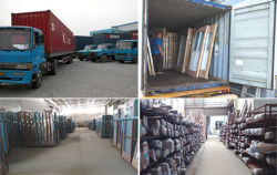 Aluminum Doors Packing & Loading