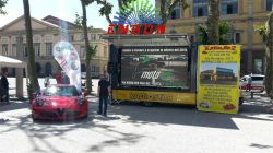 P6.25 outdoor LED display exported to Italy