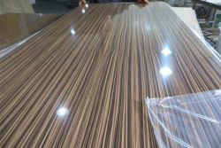 wood grain color UV MDF
