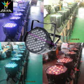 54X3w RGBW LED PAR 64 Professional Stage Lighting