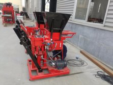 popular interlocking brick machine