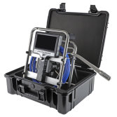 Self leveling Borehole Inspection Camera