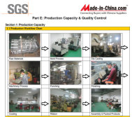 we are SGS factory