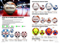 Futsal Ball in Thermo-bonded Technology