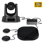 Video conference system camera +microphone
