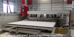 Intelligent infrared bridge cutting machine