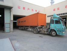 packing 3x16m at container