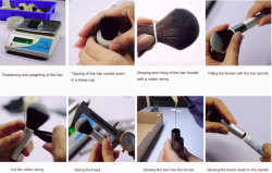 BRUSH PRODUCTION POROGRESS