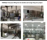 18000bph fruit juice filling line