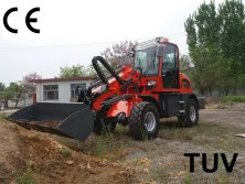 Telescopic loader (HQ915T) wait for testing