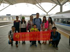 We have a happy traveling in Zhuhai and Macao(outing)